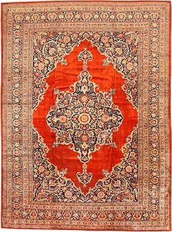 antique persian silk tabriz rug 7991 nazmiyal Antique Oriental Rugs   The History