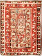 Antique Milas Turkish Rugs