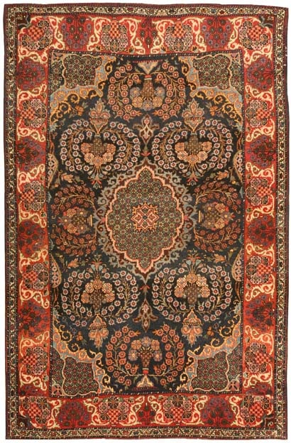 Antique Sarouk Persian Rug 43301 Main Image - By Nazmiyal