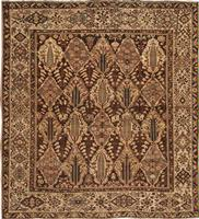 Antique Bakhtiari Persian Rug 42930 Color Details - By Nazmiyal