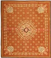 t Antique Aubusson French carpet 436311 Art Deco Rug 45671