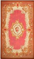 Antique Aubusson French Rug 43636 Color Details - By Nazmiyal