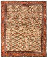 Antique Silk and Wool Dagestan Rug 43907 Color Details - By Nazmiyal