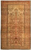 Antique Farahan Persian Rug 43502 Color Details - By Nazmiyal
