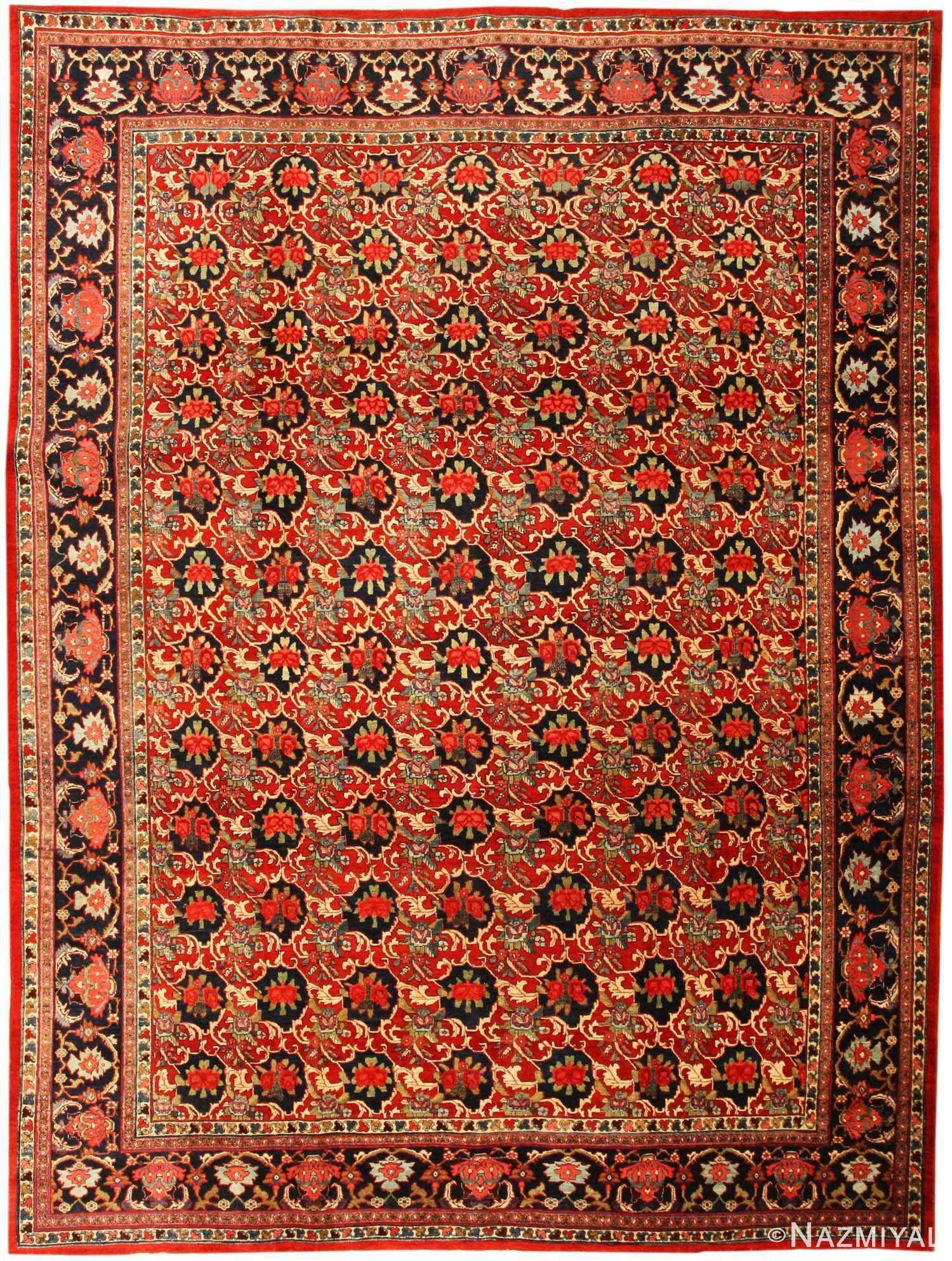 Bidjar Persian Carpet 43562 by Nazmiyal