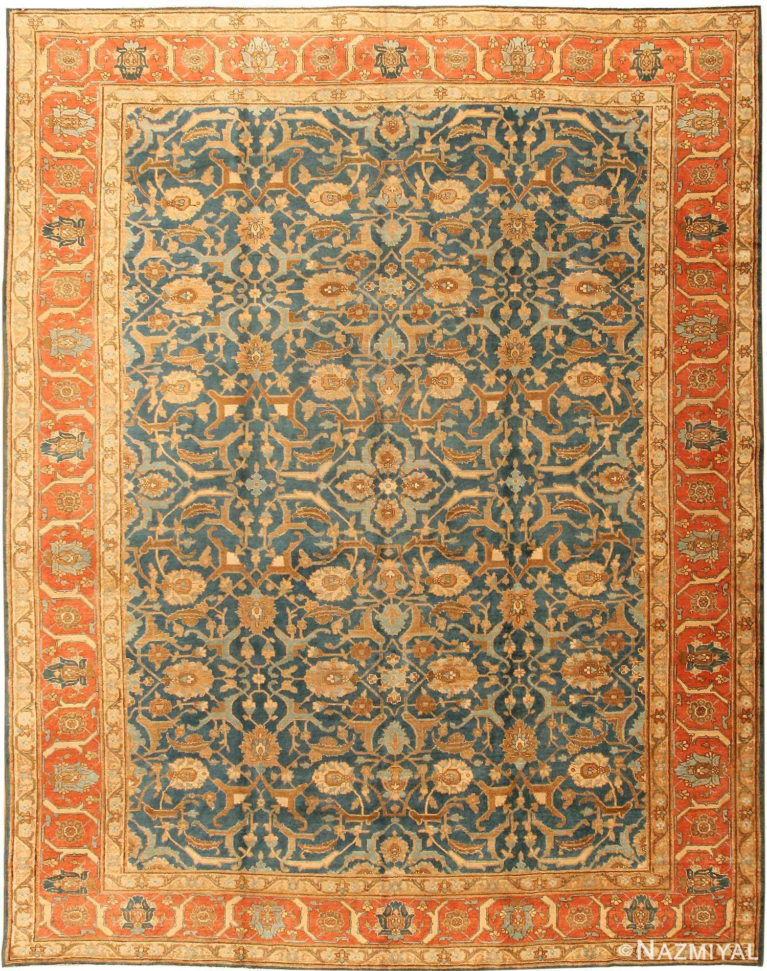 Tabriz Rug Antique Persian Carpet 41622 By Nazmiyal