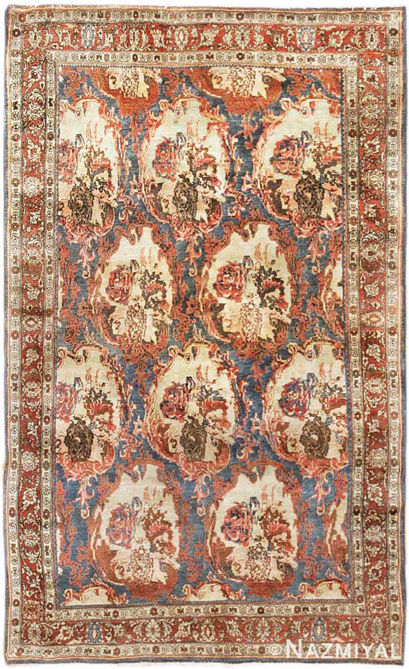 Antique Bidjar Persian Rug 44159