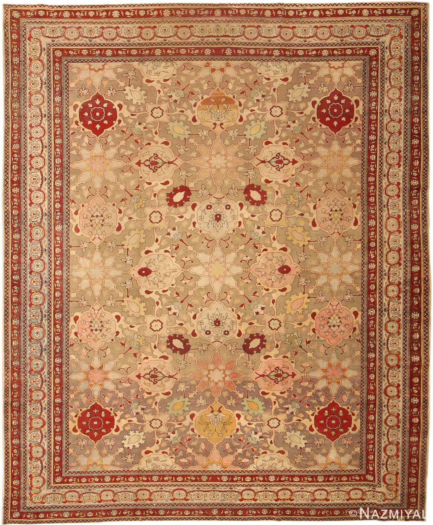 Hereke Silk Rug Youtube: Antique-hereke-turkish-rug-47043-detail.jpg (JPEG Image