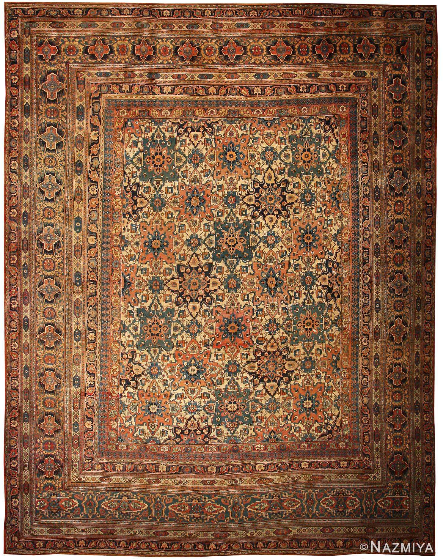 Antique Khorassan Persian Rugs carpet 44046 antique khorassan persian