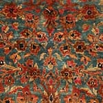 antique kashan persian area rugs 43899 Fine Antique Persian Mohtashem Kashan Carpet 47197