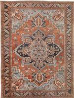 Antique Heriz Persian Rugs 44802 Color Details - By Nazmiyal