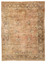 Antique Agra Indian Rug 43995 Color Details - By Nazmiyal