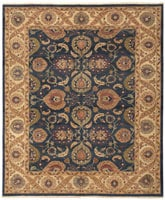44682 Sultanabad Indian Rug color Antique Light Blue Persian Sultanabad Carpet 47270