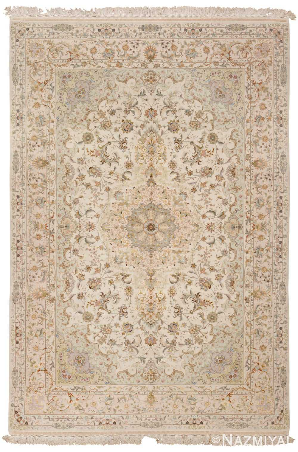 White Persian Rug Home Decor