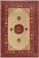color 45780 Antique Light Blue Khotan Carpet From East Turkestan 47116