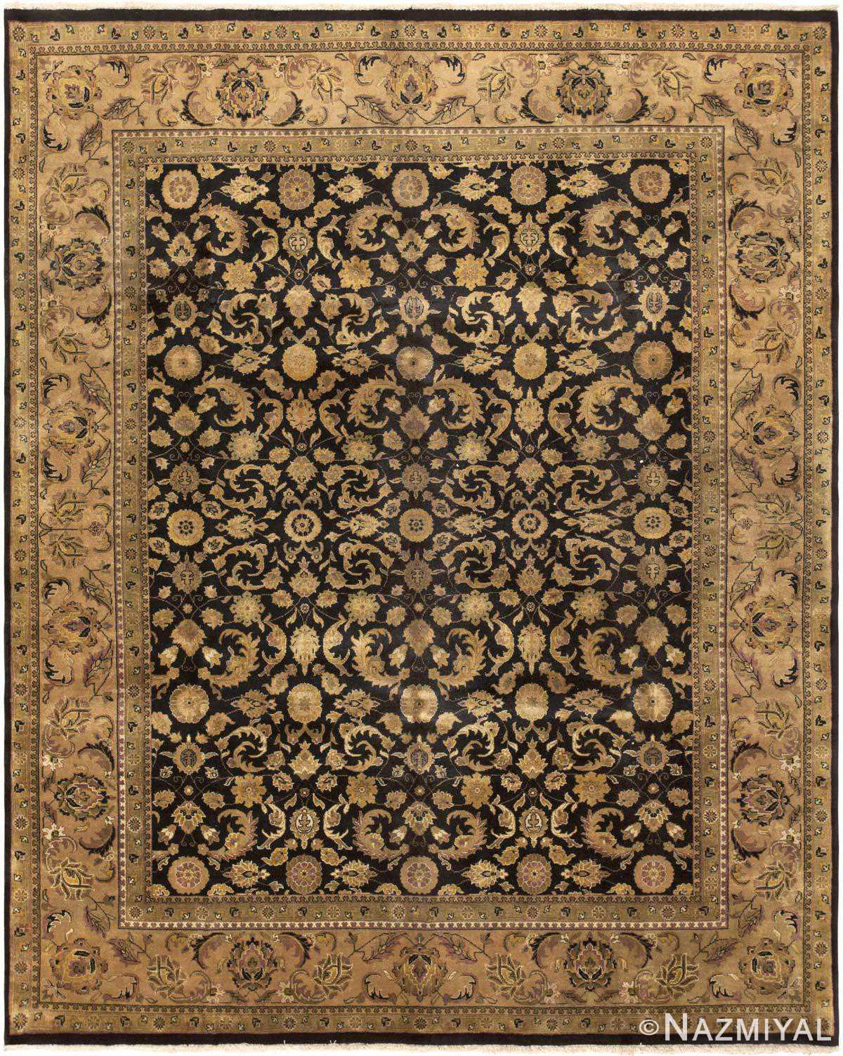 Tabriz rug modern indian carpet 43669 by nazmiyal for Home inspired by india rug