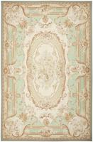 Modern Chinese Aubusson Rug 44694 Color Detail - By Nazmiyal