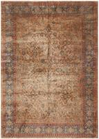 Antique Kashan Persian Rug 43598 Color Detail - By Nazmiyal