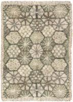 color 46234 Vintage Swedish Rya Rug 47323