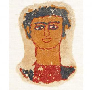 Early Coptic Egyptian Textile 46131
