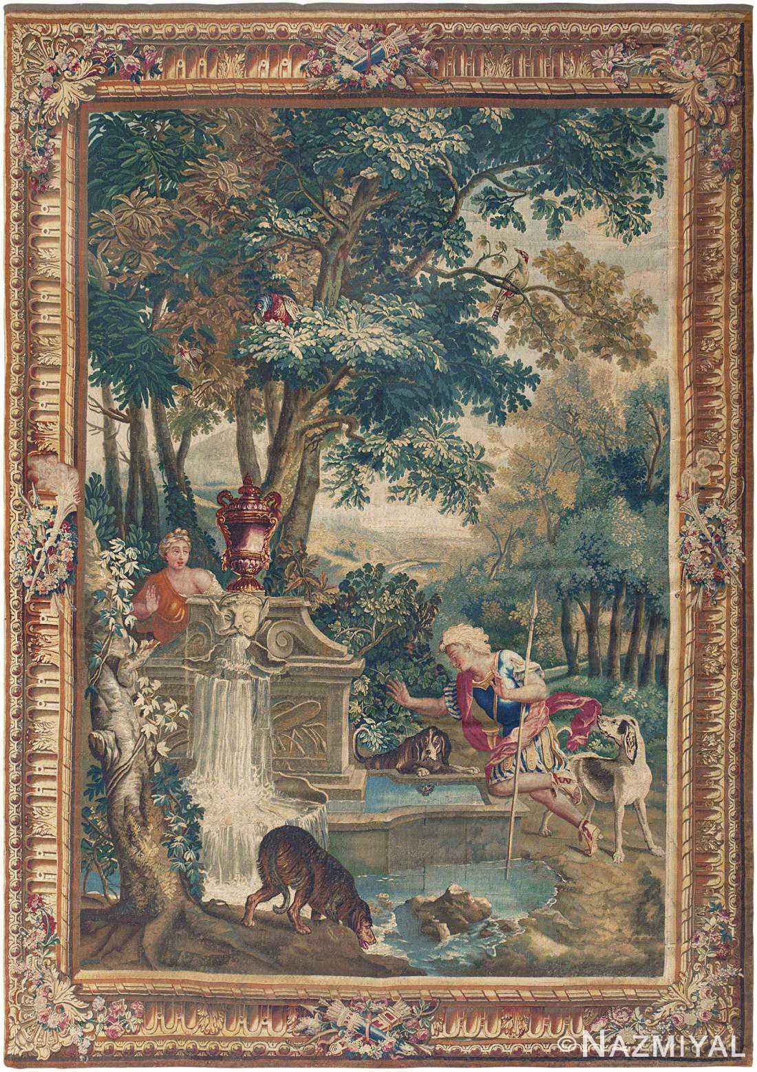 18th Century French Mythological Tapestry 46567 Nazmiyal