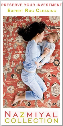 Preserve Your Investment with Nazmiyal Expert Rug Cleaning