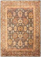 Antique Donegal Turkish Rug 46699 Color Detail - By Nazmiyal