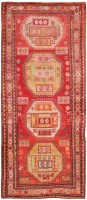 Antique Caucasian Kazak Carpet 43992 - By Nazmiyal