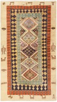 Antique Indian Agra Carpet 46868 Nazmiyal - By Nazmiyal