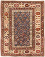 Antique Caucasian Shirvan Rug 47127 Color Detail - By Nazmiyal