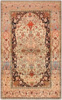Antique Mohtashem Kashan Persian Rug 47051 Nazmiyal - By Nazmiyal