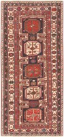 Antique Shirvan Caucasian Rug 47121 Color Detail - By Nazmiyal