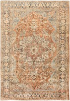 Vintage Persian Bakhtiari Rug 46836 Color Detail - By Nazmiyal