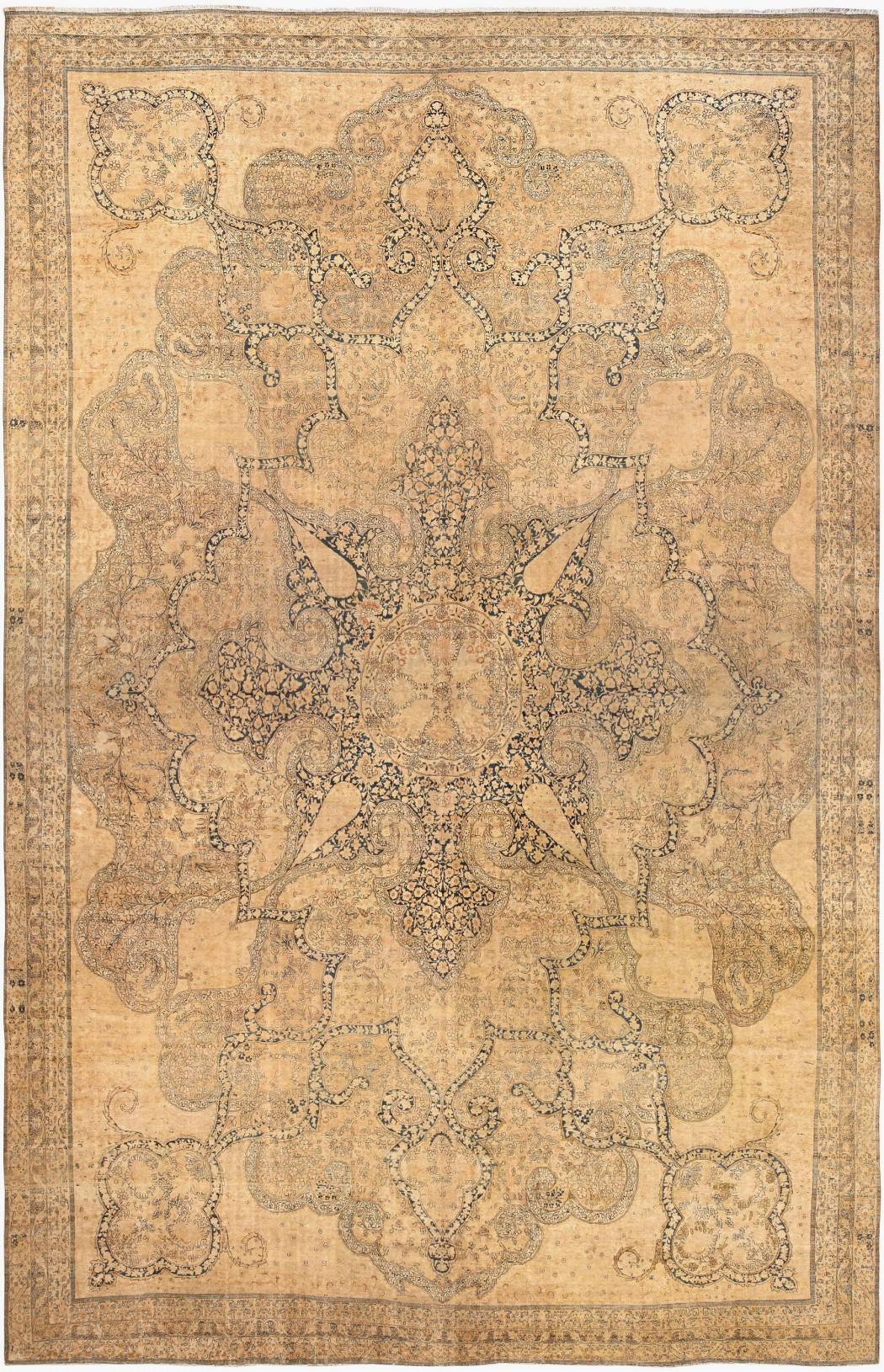 Antique Persian Kerman Rug 44616 By Nazmiyal