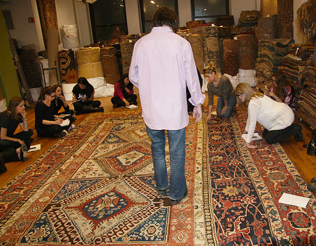 New School Interior Design Course Nazmiyal Antique Carpets