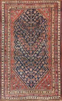 Antique Tribal Persian  Gashgai / Qashqai Rug  47296 Color Detail - By Nazmiyal