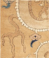 Ming Dynasty 16th Century Chinese Dragon Carpet 47381 Color Detail - By Nazmiyal