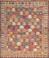 Caucasian Shirvan Rug 47583 Color Detail - By Nazmiyal
