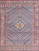 Breathtaking Antique Persian Kerman Rug 47578 Color Detail - By Nazmiyal