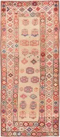 Tribal Caucasian Kazak Rug 47659 Color Detail - By Nazmiyal