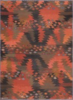 Scandinavian Rug By Barbro Nilsson For Marta Maas 47663 Color Detail - By Nazmiyal
