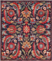 Antique Turkish Kerman Rug #47984 Color Detail - By Nazmiyal