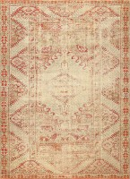 Shabby Chic Antique Turkish Ghiordes Rug 47594 Color Detail - By Nazmiyal
