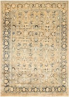 Antique Persian Mahal Rug 45470 Color Detail - By Nazmiyal