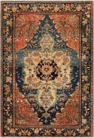 Anique Persian Faharan Sarouk Rug 48101 Color Detail - By Nazmiyal