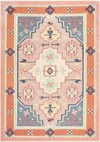 Vintage Scandinavian Kilim 48116 Color Detail - By Nazmiyal