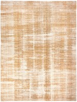 Shabby Chic Antique Indian Agra Rug 43689 Color Detail - By Nazmiyal